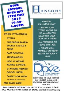 Dove Open Day Poster